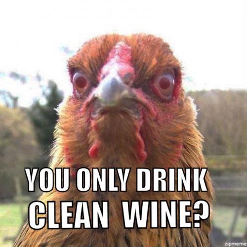 clean wine chicken